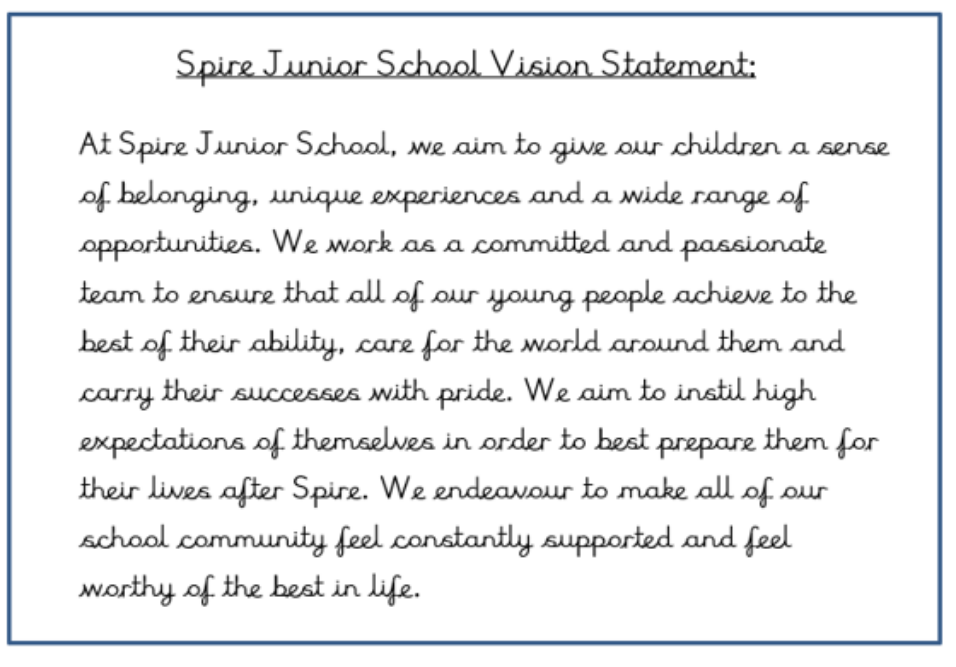 Our School Values image